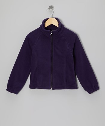 Midnight Purple Denali Jacket - Girls