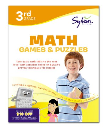 3rd Grade Math Games & Puzzles Workbook