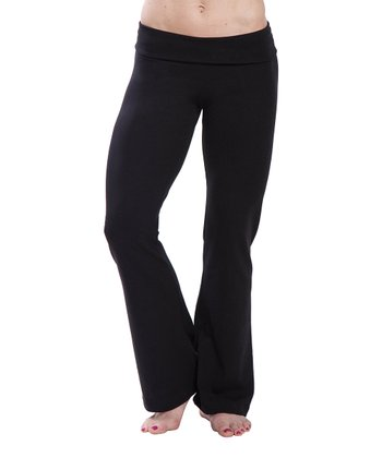 Black Tall Bootcut Yoga Pants