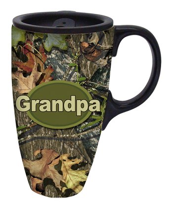 Mossy Oak 'Grandpa' Travel Mug