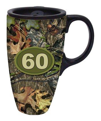 Mossy Oak '60' Travel Mug