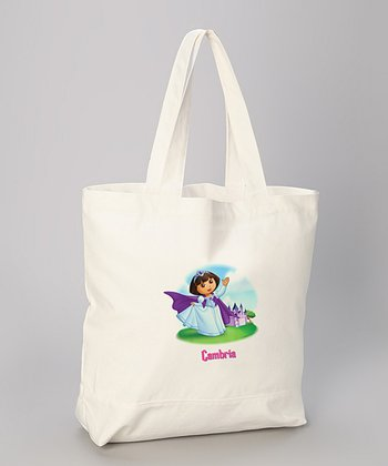 Princess Dora Personalized Tote