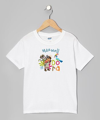 Jungle 'Dora' Personalized Tee - Toddler & Kids