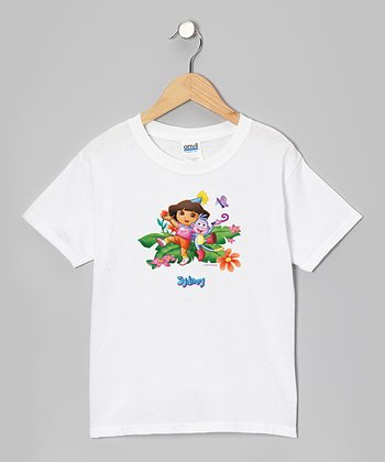 Dora & Boots Birthday Personalized Tee - Toddler & Kids