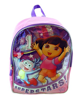 Pink Dora 'Superstars' Backpack