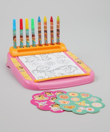Dora Roll & Go Stationery Desk Set