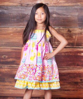 Pink Psanka Sassy Dress - Infant, Toddler & Girls