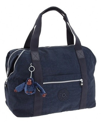 Blue Art Travel Tote