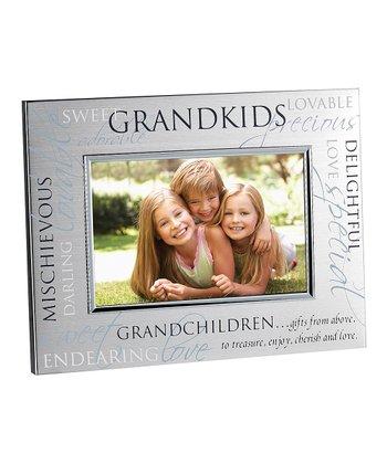 Cupecoy Design Silver 'Grandkids' Frame
