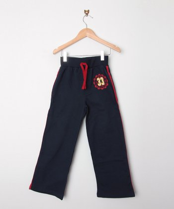 Navy '33' Warm-Up Pants - Toddler & Boys