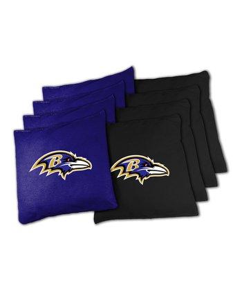 Baltimore Ravens Beanbag Set