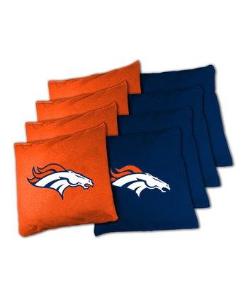 Denver Broncos Beanbag Set