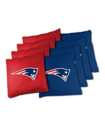 New England Patriots Beanbag Set