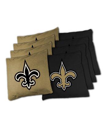 New Orleans Saints Beanbag Set