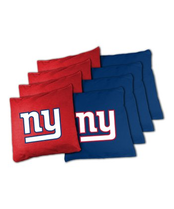 New York Giants Beanbag Set