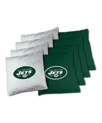 New York Jets Beanbag Set