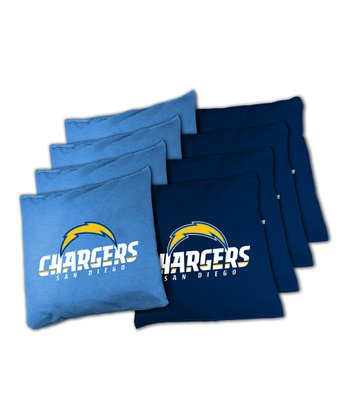 San Diego Chargers Beanbag Set