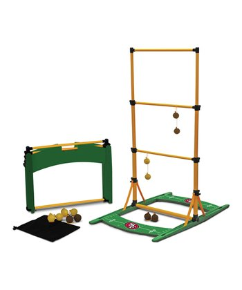 San Francisco 49ers Ladderball Toss Game Set