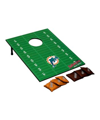 Miami Dolphins Silver Tailgate Toss Set