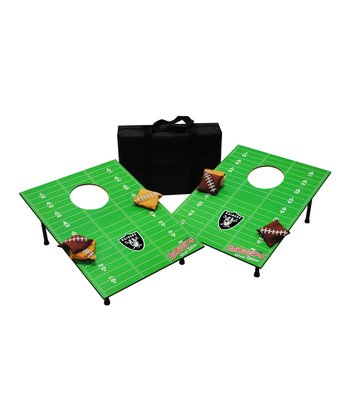 Oakland Raiders Silver Tailgate Toss Set