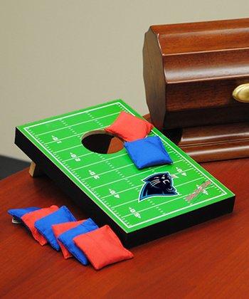 Carolina Panthers Tabletop Toss Football Field Set