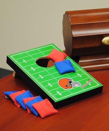 Cleveland Browns Tabletop Toss Football Field Set