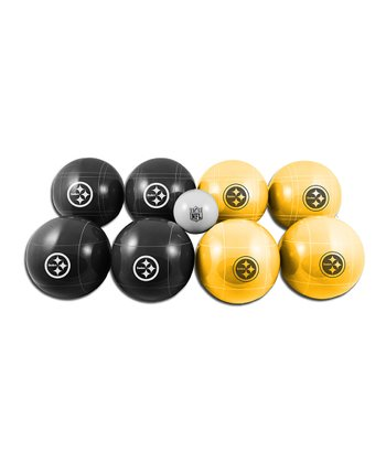 Pittsburgh Steelers Bocce Ball Set
