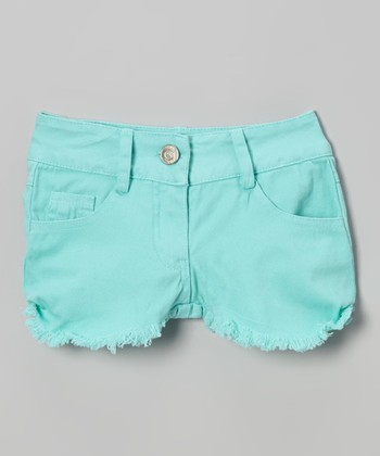 Mint Shorts - Toddler & Girls