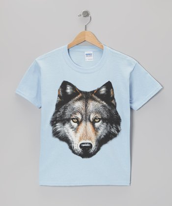 Blue Wolf Tee - Toddler & Kids