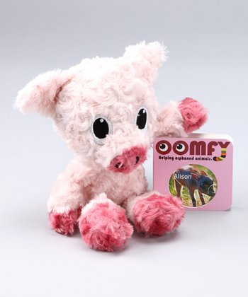 Pink Baby Warthog Plush Toy & Board Book