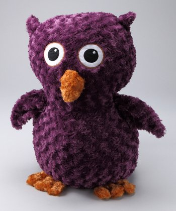 Purple Kingston the Owl Jumbo Plush Toy
