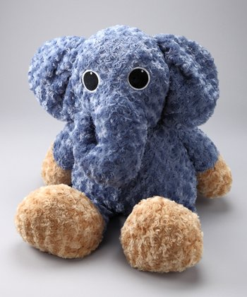 Blue Novu the Elephant Jumbo Plush Toy