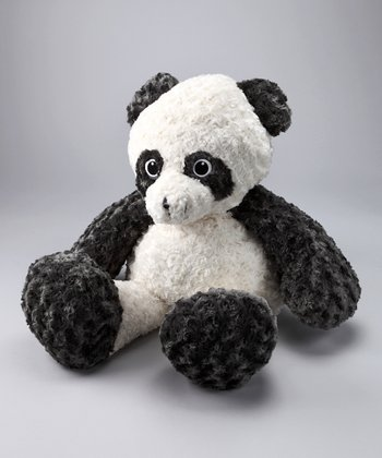 Gray & White Panda Jumbo Plush Toy