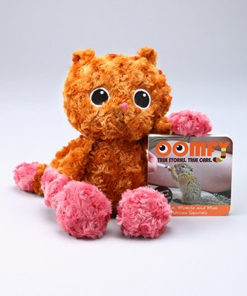 Orange Angel the Squirrel Plush Toy & Board Book