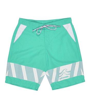 Lagaci Mint Boardshorts - Men