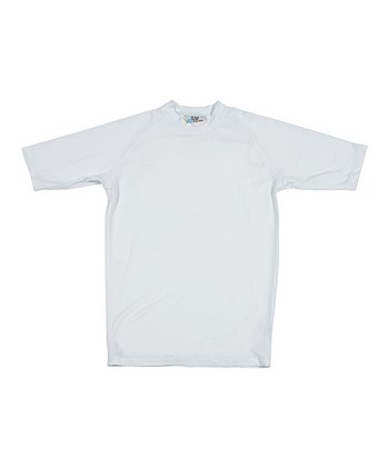Lagaci White Rashguard - Men