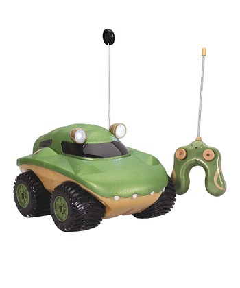 Green & Yellow Gator Morphibian Remote Control Car