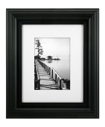 Black Matted Simple Frame