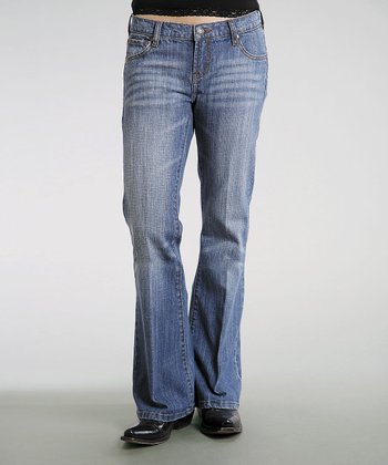 Mineral Wash 816 Classic Stretch Bootcut Jeans - Women