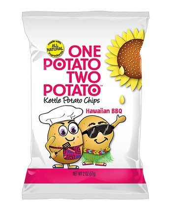 Hawaiian Barbecue Kettle Cooked Potato Chips - Set of 24