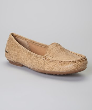 Ivory Charlize Leather Loafer