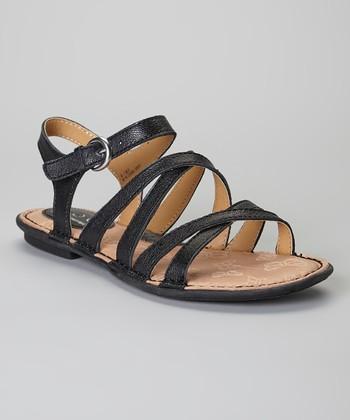 Black Malay Leather Sandal