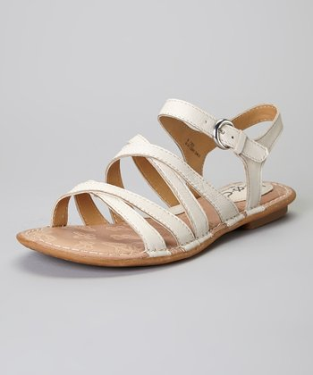 Sand Malay Leather Sandal