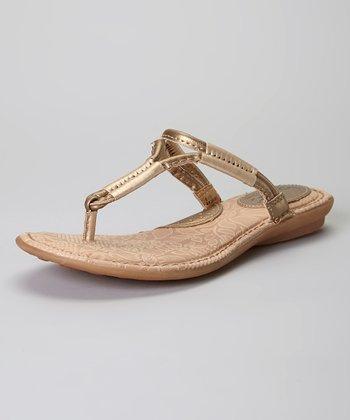Sunbronze Champ Reverie Leather Sandal