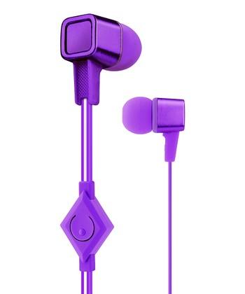 Purple Cubix Earbuds