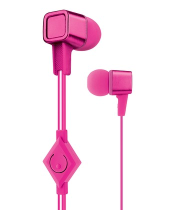 Pink Cubix Earbuds
