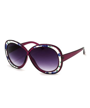 Purple Bonnet Sunglasses