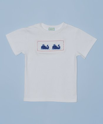 K&L White Whale Embroidered Tee - Toddler & Boys