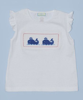K&L White Whale Embroidered Tee - Infant & Toddler