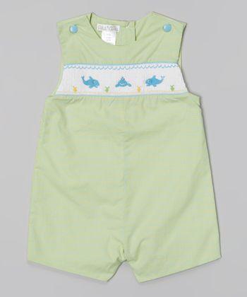 Green Whale John Johns - Infant & Toddler